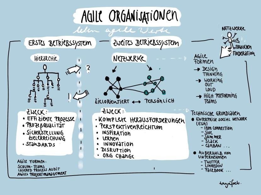 Agile Organsiatonen